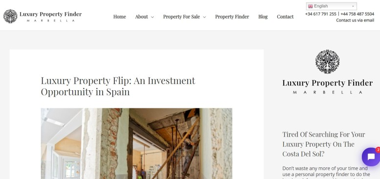 Luxury Property Flip: An Investment Opportunity in Spain